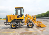 China 0.5m3 Bucket Mini Wheel Loader 9s Cycle Time Long Arm Joystick Y Type Wave Tyres factory
