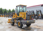 China Mini Articulated Wheel Loader T915L With Pallet Fork ISUZU Strengthen Axles factory