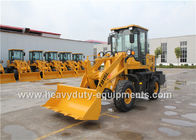 China 24kw Diesel Engine T915L Mini Front End Loader 800Kgs Rated Load 2800Mm Dumping Height factory