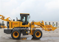China Yellow SINOMTP Front End Wheel Loader 75kw Big Power Cummins Engine For Construction factory