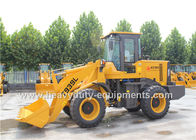 China Yellow 2 Ton Wheel Loader Equipment Luxury Cab With Yuchai Turbo Engine YC4D80-T20 58kw factory
