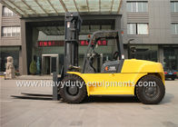 China XICHAI Engine Diesel Forklift Truck 6 Cylinder Sinomtp FD100B 3000mm Lift Height factory