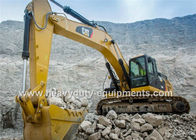 Caterpillar Hydraulic Excavator Heavy Equipment , 5.8Km / H Excavation Equipment
