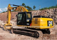 China midsize excavator, CAT brand with 1.3m³ bucket capacity, 323D2L, 116KW net power factory
