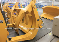 China Construction Equipment Spare Parts Log Loader Grapple Single Above Clamp 2256mm width factory