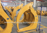 Construction Equipment Parts Tractor Log Grapple Single Clamp Above Type 1028Kg Attachment Weight