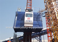 China 36M / Min Construction Hoist Elevator , Construction Site Elevator Safety Vertical Transporting Equipment factory