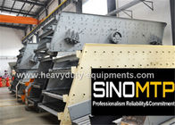 China 970R / Min REV Stone Crusher Vibrating Screen With Long Flowing Line company