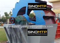 China Sand washer with high capacity and less loss of fine products and long service life factory
