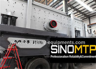 China Two - Spindle Body Stone Crusher Machine , Mobile Cone Crusher 6-75 mm Feeding company