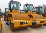 China Rear Wheel Mechanical Vibratory Road Roller Road Paving Equipment 2.0/1.0 mm Vibrate Range factory