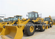 China L968F SDLG 6t Wheel Loader / Payloader with ROPS Cabin Air Condition Pilot Control factory