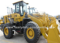 China wheel loader L956F SDLG brand 3 valves with standard bucket 3 m3 and cabin factory