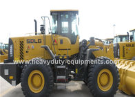 China Dual Brake Pedal Wheel Loader Construction Equipment  L956F  3 Valve Control company