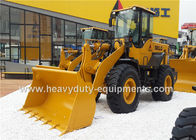 China Mechanical Operation Front Loader Construction Equipment 12700Kg Operating Weight factory