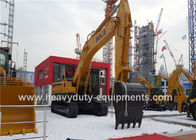 Mechanical Crawler Mounted Excavator 2M3 Bucket 35° Climbing Angle Pilot Operation