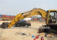 China SDLG Excavator LG6400E with SDLG SD 130A Engine Max Digging Depth 6850 mm factory