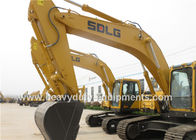China SDLG excavator LG6225E with Commins engine and air condition cab factory