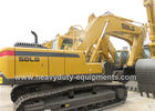 China LINGONG hydraulic excavator LG6250E with pilot operation negative flow and VOLVO techinique factory
