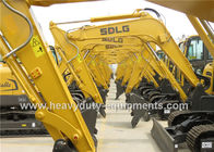 China SDLG excavator LG6225E with 1.35m3 rotating coal bucket 6650 digging height factory