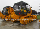China Shantui bulldozer SD22F equipped with the wider track and the mechanical winch factory