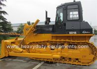 China 3860mm Power Angle Blade Construction Bulldozer 17.44T With Sealed Shock Absorbing Cabin factory