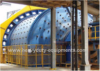 China Automated Industrial Mining Equipment Autogenous Grinding Mill Stable Particle 350mm Feed factory