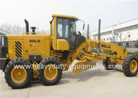 China 2200R / Min Road Construction Machinery 16.5 Ton Motor Grader With 158Kw Rear Axle Drive factory