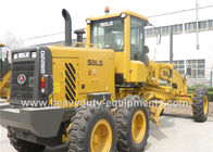 China 87KN Tractive Force Motor Grader 39Km / H Road Machinery Equipment DDE Engine factory