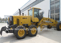 China 16 Tons Road Construction Safety Equipment Front Blade Motor Grader With 1626mm Cutter factory