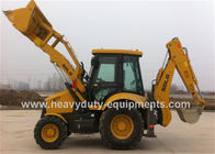 Weichai Engine Road Construction Equipment Backhoe Loader B877 With 6 In 1 Bucket