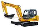 China XGMA XG806 hydraulic excavator equipped with standard attachment in 0.22 cbm factory