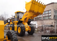 China 8ton wheel loader XGMA XG982H with Cummins engine , 4.4m3 bucket , 228kN breakout force factory