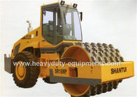 China Shantui SR18M mechanicao single drum road roller, 18ton weight, Yuchai engine factory