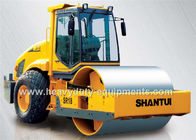 China Shantui Full Hydraulic Road Roller SR18 with Operating weight 18000kg air condition cabin factory
