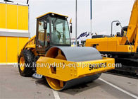 China Mechanical vibratory single drum Road roller SR14M-2 with 95kw Shangchai engine , 14T weight factory