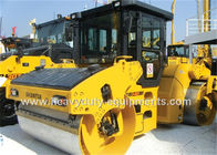 China SR14D-3 of Shantui Double drum road roller with Cummins engine, 14t operating weight factory