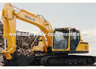 China Hydraulic excavator LGW6150E with DDE BF6M2012C engine with 13100kg operating weight factory
