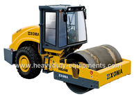 China Single Drum Road Roller XG6204M with optional pad foot drum and Yuchai engine factory