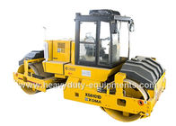 China XGMA double-drum vibratory roller XG6101D use hydro statically operating and Cummins Engine factory