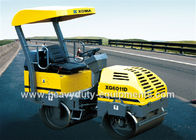 China Tandem Vibratory Road Roller XG6011D with cummins engine and SAUER pump factory