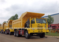 China Mining tipper truck / dump truck bottom thickness 12mm and HYVA Hydraulic lifting system company