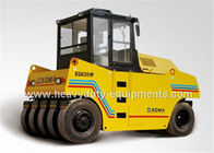 China XGMA pneumatic road roller XG6261P with Cummins engine 105kw rated power factory