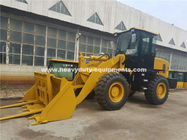 3000kg Loading Capacity Wheel Heavy Equipment Loader With 127kn Breakout Force And 3100mm Dump Height