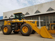 China LG958L Model 5 Tons Wheel Loader Equipment With Power Shift Normally Engaged Straight Gear factory