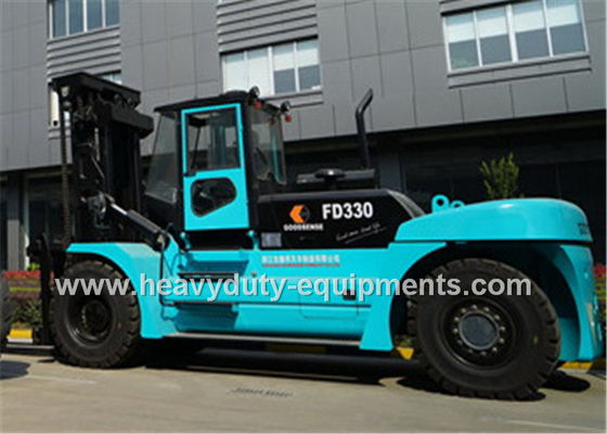 ISUZU Engine Lifted Diesel Trucks Sinomtp FD330 Forklift Lifting Equipment