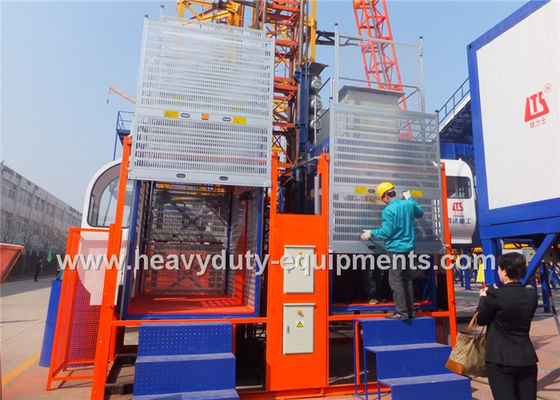 China Ship Industry Concrete Construction Equipment Industrial Elevator Lift 2000Kg Rated Loading Capacity factory