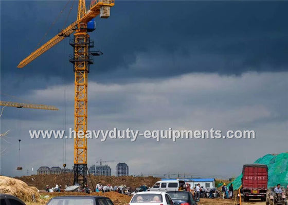 China Safety Concrete Construction Equipment Luffing Jib Tower Crane 161M Max Height For Max Load factory