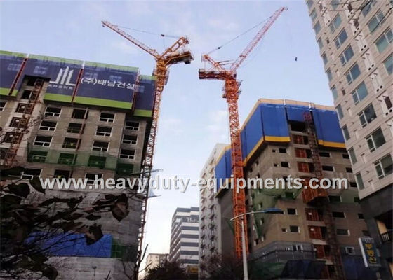 China 46M Free Height Construction Machinery Equipment Outside Climbing Tower Crane factory