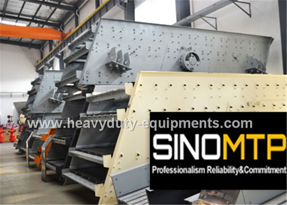 China 970R / Min REV Stone Crusher Vibrating Screen With Long Flowing Line factory